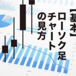 【チャートの基本】仮想通貨のローソク足チャートの見方とは?